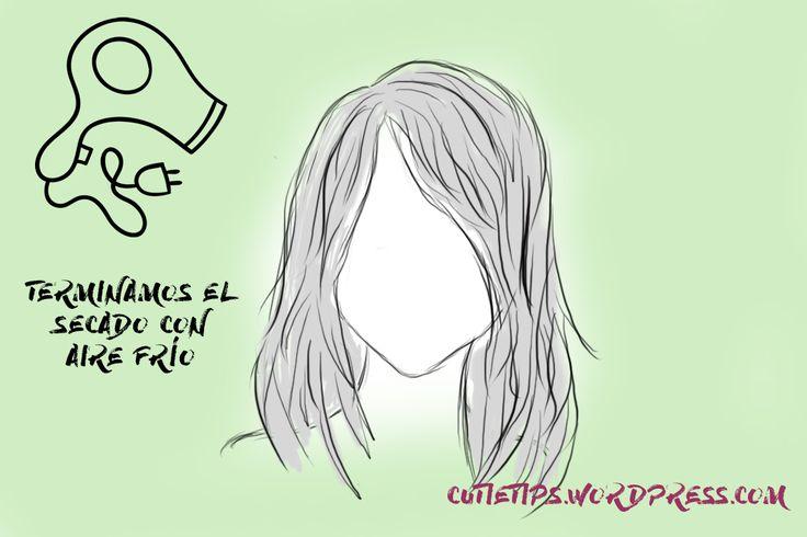 Terminar el secado con aire frío para un pelo más grueso, con volumen y más fuerte.   Más tips para el cabello en mi blog!   #tips #hacks #pelo #cabello #hair #belleza  #beauty #blog #blogger