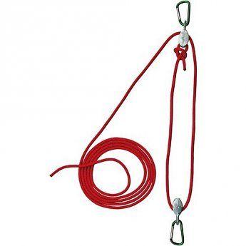 Kids at work Takel met 5 meter touw om alles omhoog te takelen wat je wilt!