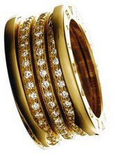 bvlgari jewelry yellow gold with diamonds ring see more