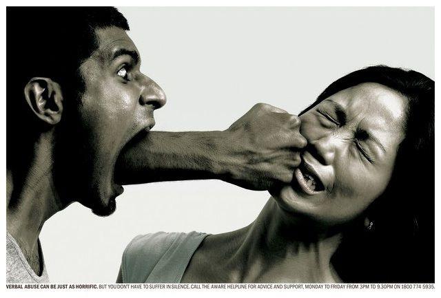 Przemoc słowna boli tak samo jak fizyczna.