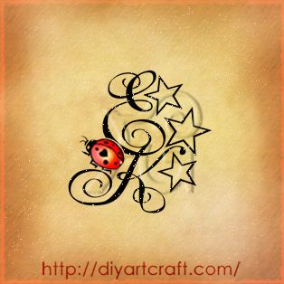 Ladybug Tattoos | Alfabeto Decorativo Floreale Anemone Narcissiflora Tattoo Q