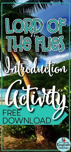 Lord of the Flies introduction activity