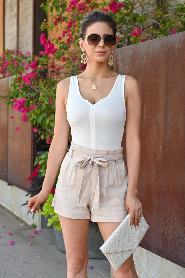 841e5e39ab Victoria Sleveless Bodysuit... Summer Fashion | Summer Outfit | Business  Casual Outfit Ideas