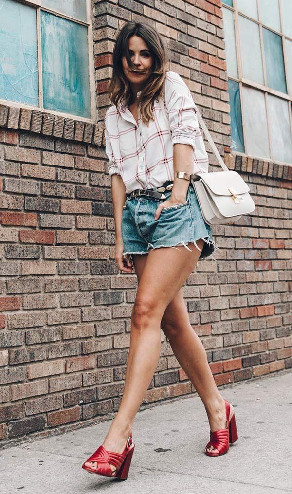 Street style look com mule