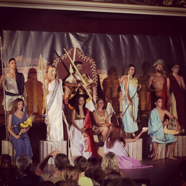 #night #with #gods #traditionalshow #olympousgods #followme