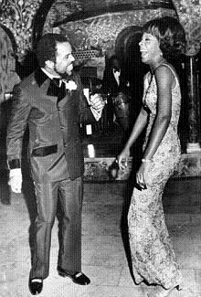 Martha Reeves and Berry Gordy.