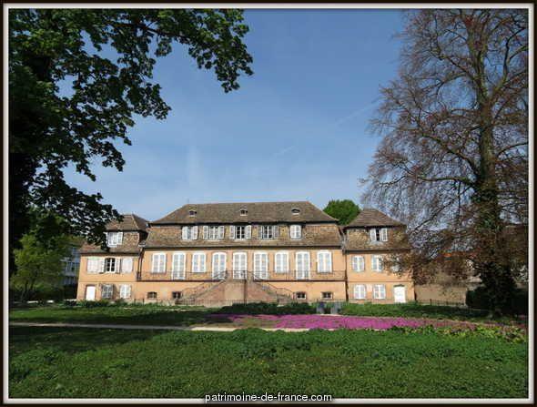 Ancien château Klinglin à Illkirch graffenstaden