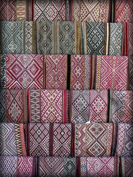 Peruvian weavings