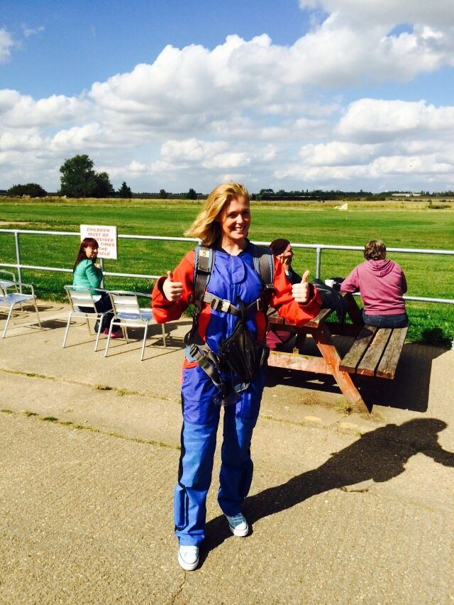 Charity skydive for Teenage Cancer Trust