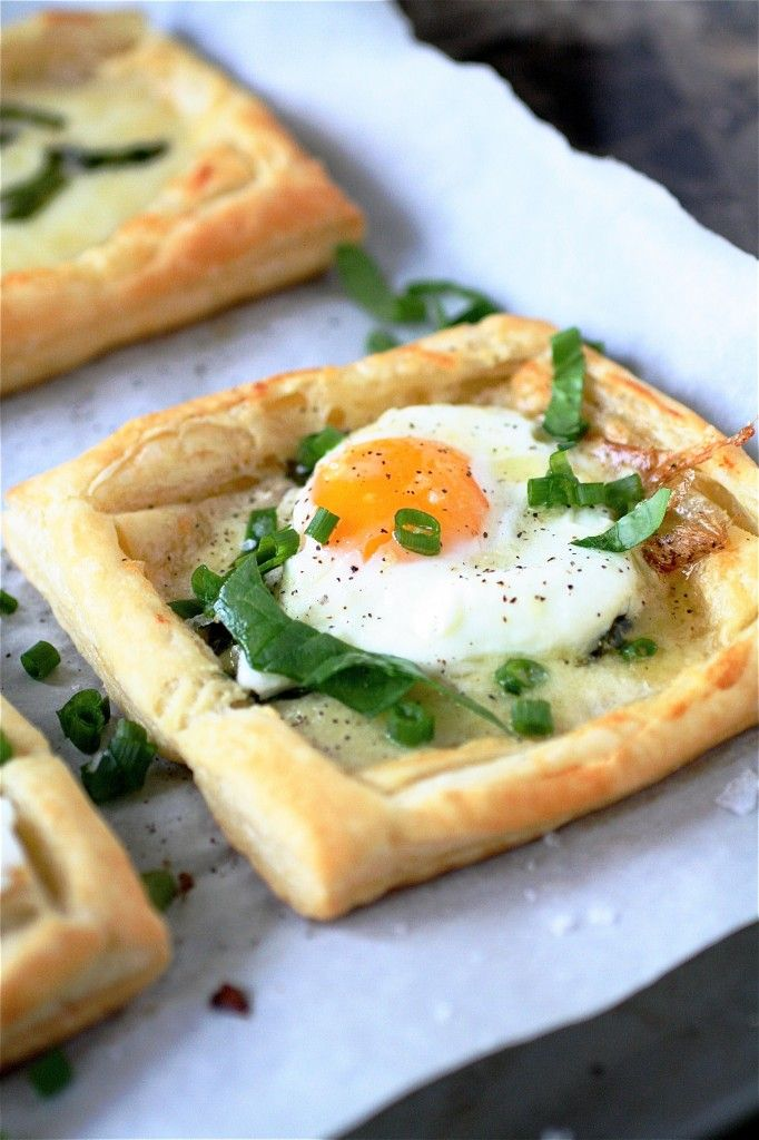 Egg & Cheese Tartlet