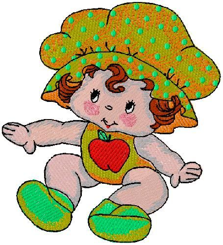 Baby embroidery design for free download amicah