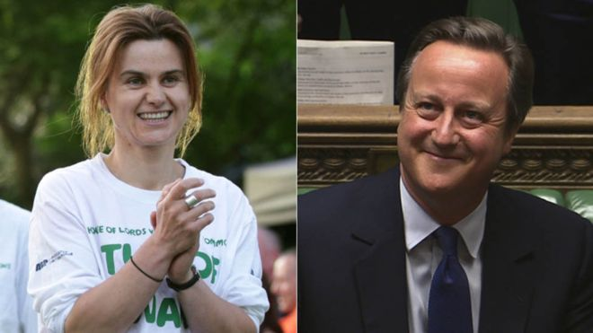 By-elections after the death of Labour MP Jo Cox and the resignation of former Conservative Prime Minister David Cameron will be held on 20 October. The Conservatives, Liberal Democrats and UKIP have said they will not take part in the Batley and Spen contest out of respect for Ms Cox's memory. The English Democrats and Liberty GB have said they will.