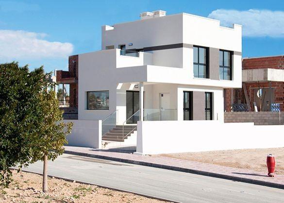 Bei Ciudad Quesada: Moderne Villen mit Dachterrasse  Details zum #Immobilienangebot unter https://www.immobilienanzeigen24.com/spanien/comunidad-valenciana/03170-rojales/Villa-kaufen/20027:1317151795:0:mr2.html  #Immobilien #Immobilienportal #Rojales #Haus #Villa #Spanien