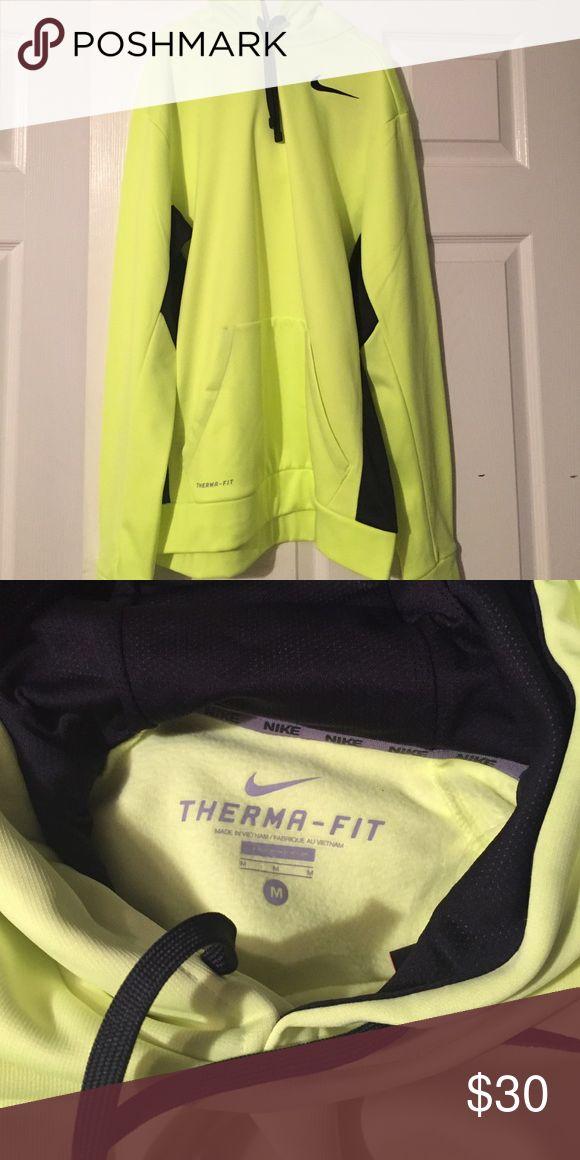 Nike sweatshirt Men's Nike Sweatshirt neon yellow. Size medium. Nwot Nike Shirts Sweatshirts & Hoodies