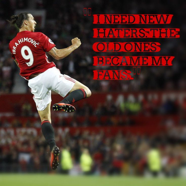 The Zlatan quote machine keeps pumping out gold #Zlatan #ManchesterUnited #ManU #soccerplayers #soccerquotes