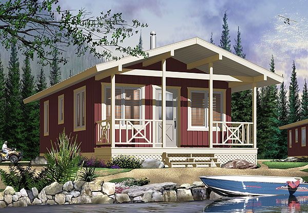 I wish I had some beach front property build this house on. Better Homes and Gardens has a whole website of house designs - including tiny houses. I had no idea.