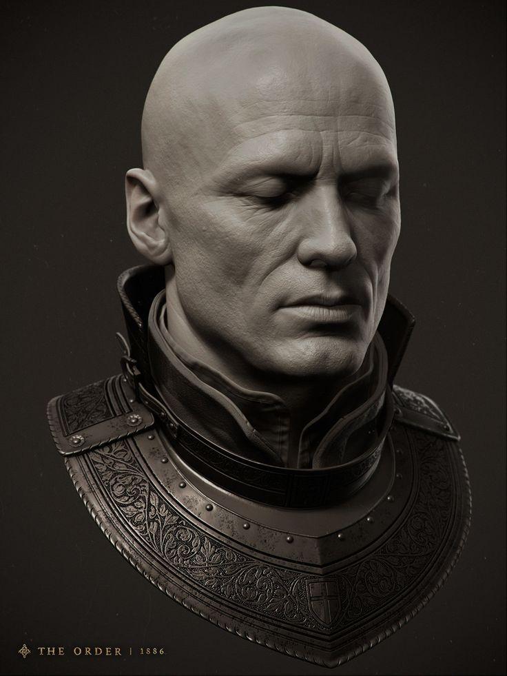 Galahad Knight by Adam Skutt | Portrait | 3D | CGSociety