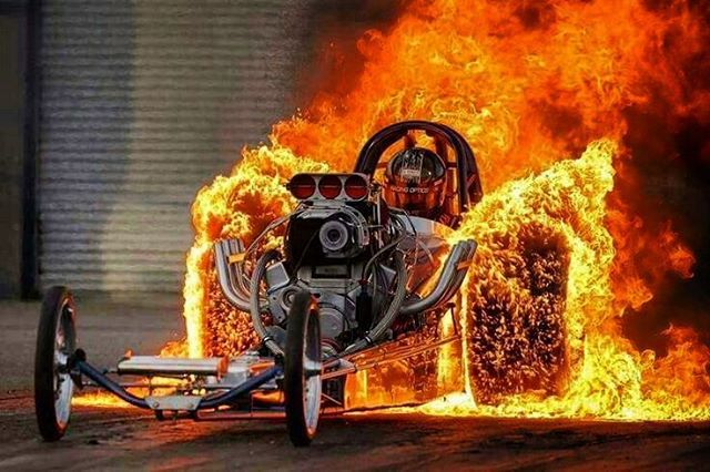"""2,476 Likes, 32 Comments - ThOmAs PaTsIS (@coldhardart) on Instagram: """"#fire #dragracing"""""""
