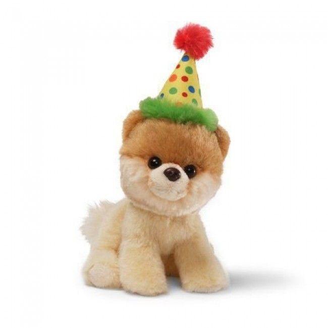 Cachorrinho de Pelúcia Filhote de Lulu da Pomerânia(Spitz Alemão) Gund Itty Bitty Boo - Aniversário - Pelúcias - Crianças - Bebês e Infantil