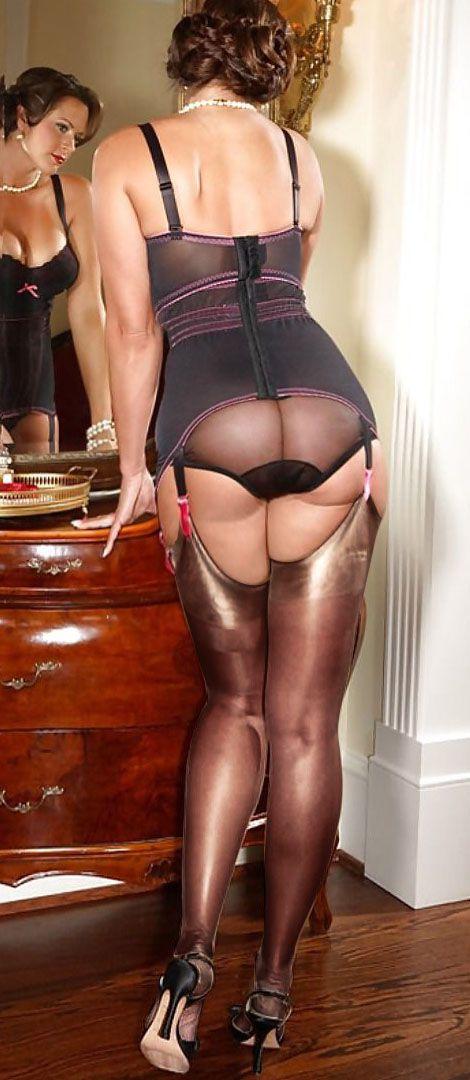 Stockings Elegant mature lingerie