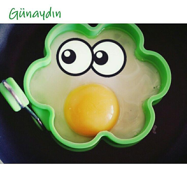 Yumurtamiz biraz şaşkın ;)