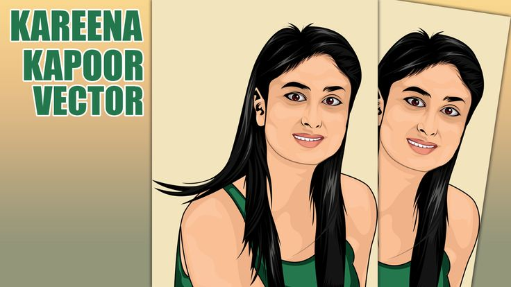 In this tutorial we will learn how to make vector portrait using illustrator CC. In here i use the photo model kareena kapoor and I hope through this tutorial we are spirit of learning again.