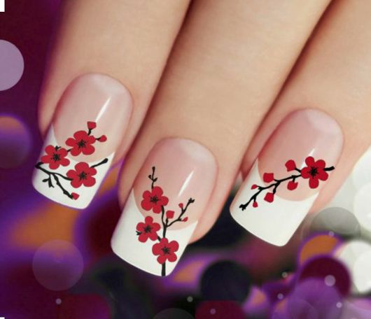 Love this plum blossom design.