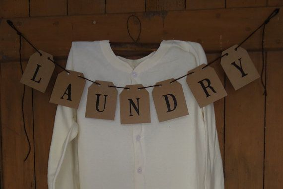 Primitive Laundry Room Banners that I make to sell