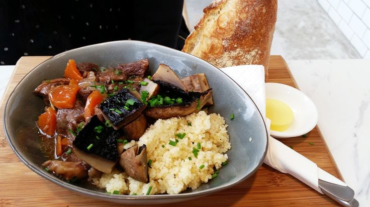 DAUBE DE BOEUF, RED WINE BRAISED BEEF, FIELD MUSHROOM, COUS COUS  at Autolyse (Central Park) - Sydney ~ The Sydney Noob | Food and Lifestyle Blog