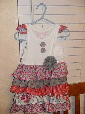 My next sewing project.  Cute summer dress for Layla bug!
