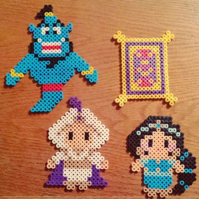 Aladdin perler beads by crankupcreations