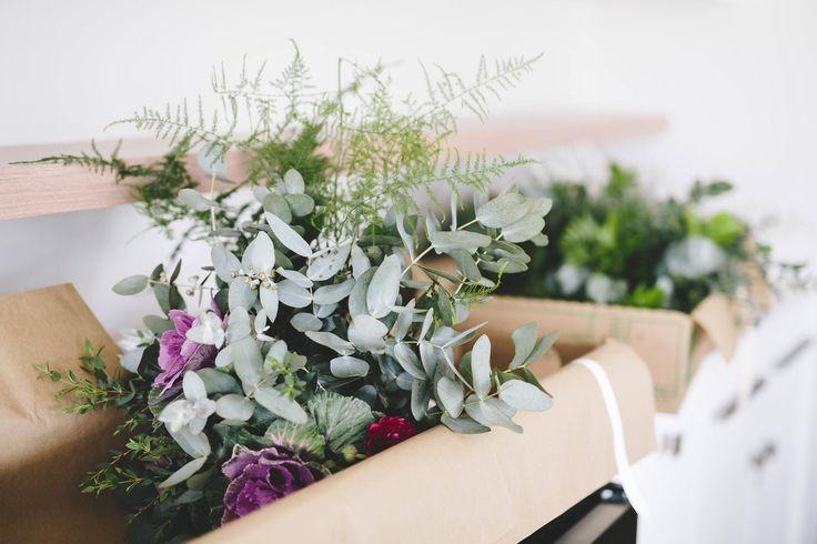 Wedding & bouquet prep