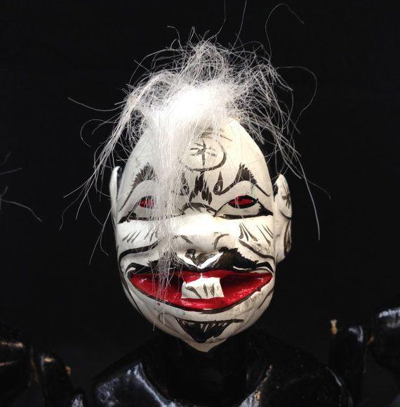 Wayang Golek Puppet Semar from Java Set of by EthnicArtandJewelry