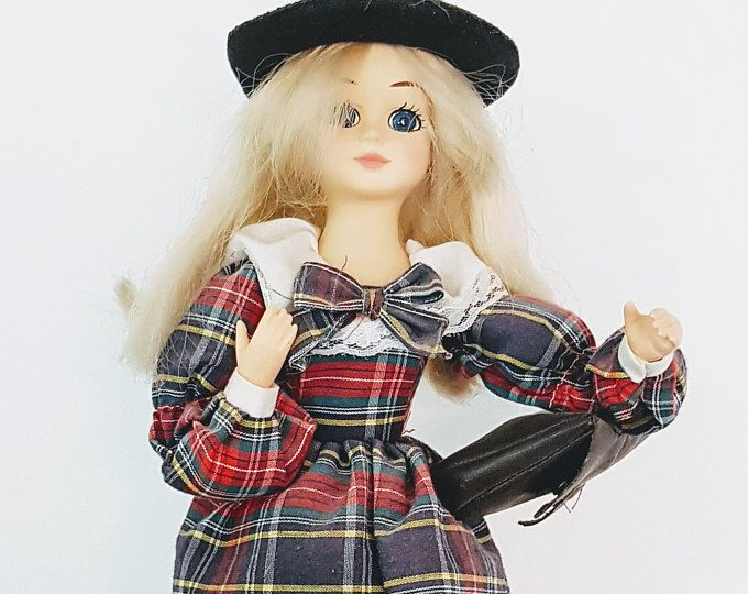 Vintage toys, girl's vintage toys, Musical Porcelain Doll - Brinn Collectible Edition Doll from 1988 #vintage #collector #homedecor #rusic #homestyle #old  #etsy #midCentury #Antique #rare #glamour #estate #garage #unusual #pieces #Primitive