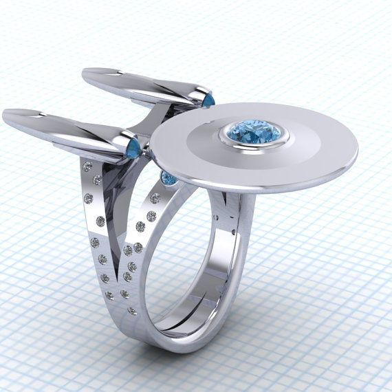 Star Trek    11 Fabulously Geeky Wedding Rings