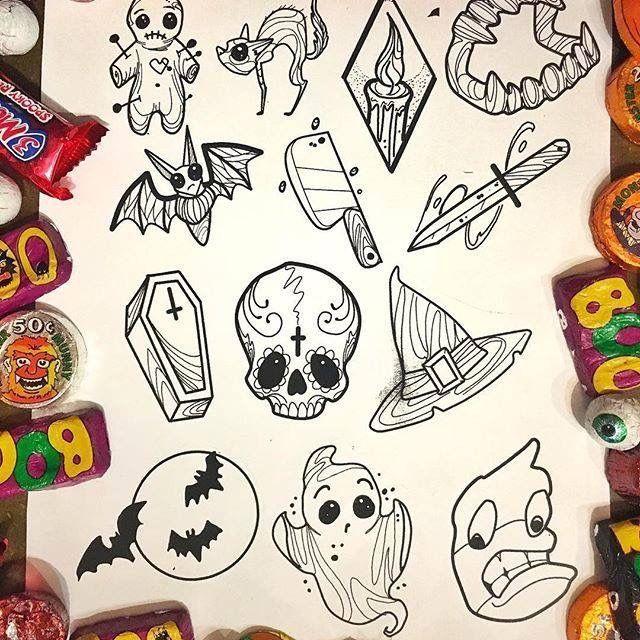 Pin by Tasha Bolich on Tattoos Halloween tattoos