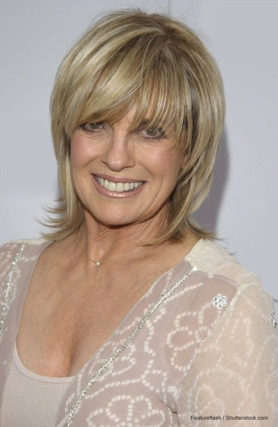 awesome Linda Gray - Mature Hairstyles