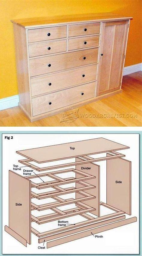 Best 25 Dresser Plans Ideas On Pinterest