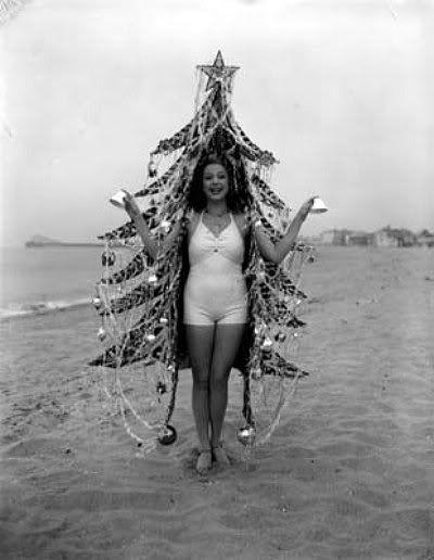 Holiday beach babe