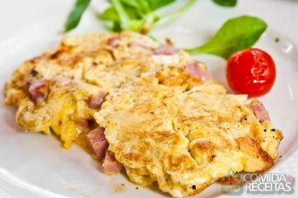 Receita de Ovos mexidos com presunto e queijo em receitas de ovos, veja essa e outras receitas aqui!