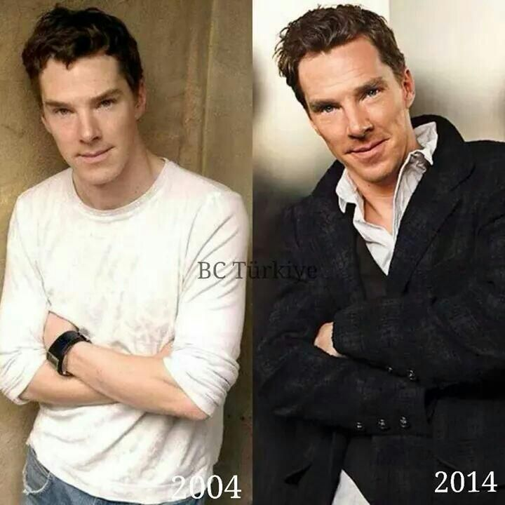 Ben comparisons. Ah he grows better with age <3