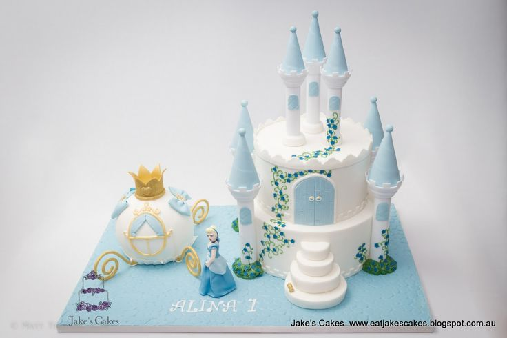 Jake's Cakes: Cinderella Castle and Carriage Cake