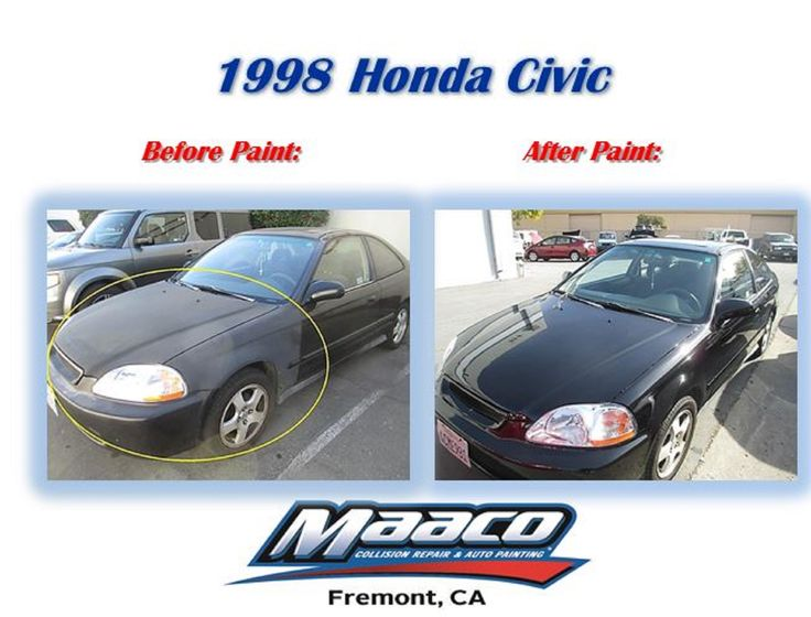 1998 Honda Civic Before & After! Come by today for a free
