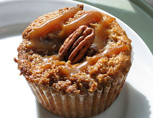 Pralines and cream pecan caramel muffins. Wow. you know i keep adding all these great recipes I cant eat -but I would love to!