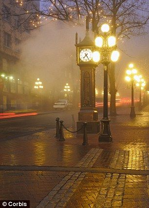 Gastown District Vancouver Canada - Boyfriend has the Canadian travel bug. Lets hope it sticks around ;)