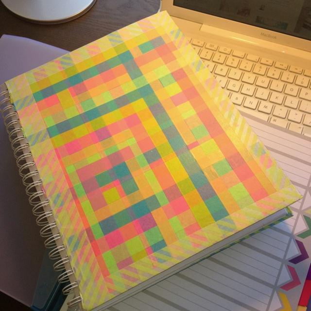 Washi Tape School Escuela Decorating School Books With Washi