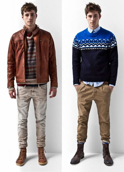 PULL&BEAR LookBook Man October 2011 | Guy Glam