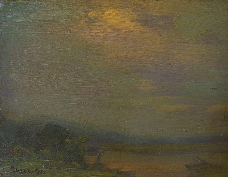 Marc-Aurèle de Foy Suzor-Coté. 1912. Coucher de Soleil, Arthabaska
