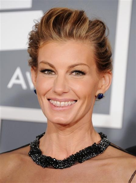 Faith Hill with ceramic braces. Beautiful!  -Reichheld Ting Orthodontics, MA