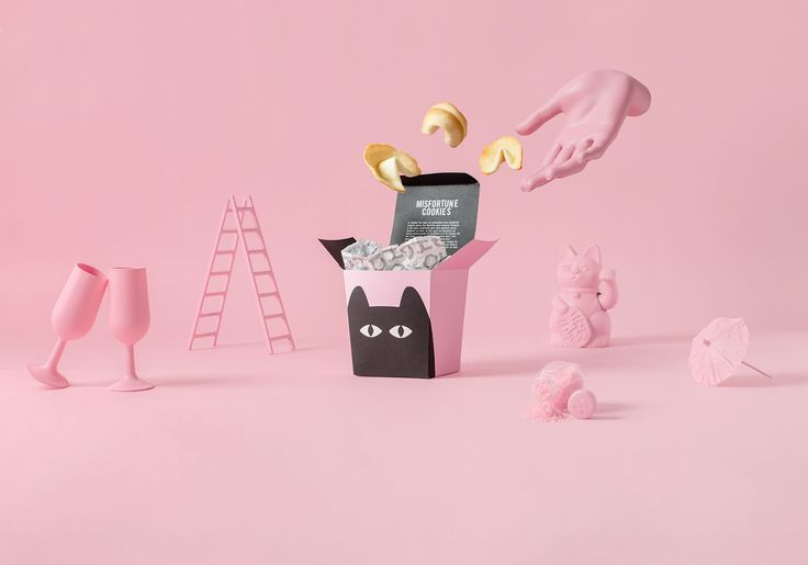 MISFORTUNE COOKIES on Behance
